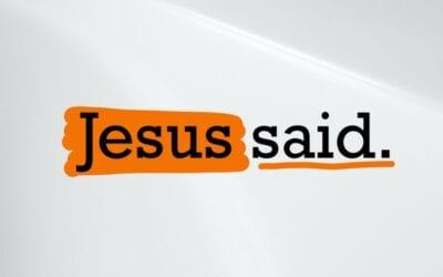 Jesus Said Devotional
